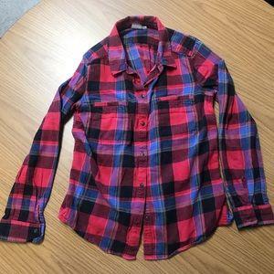 Roxy flannel shirt size S